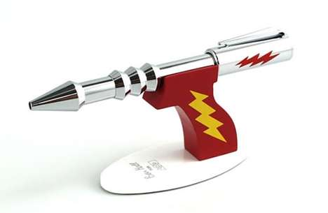 Futuristic Weapon Stationery