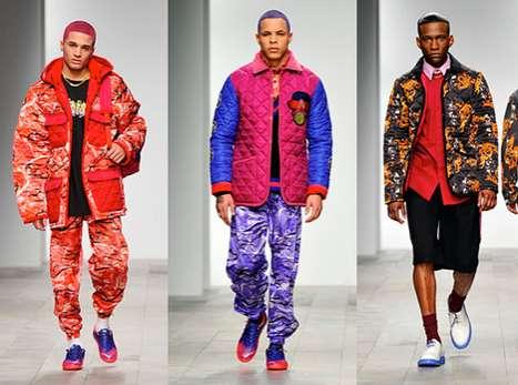 Intensely Vibrant Menswear