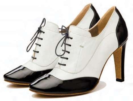 Brogue High Heels