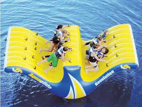 The 10-Person Water Totter Lets You Rock and Sway With the Waves