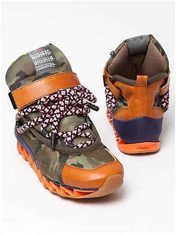 Zig-Zag Hiking Boots