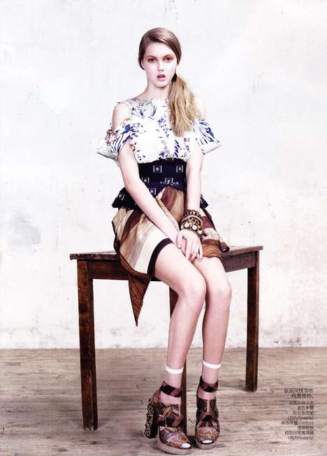 The Sweet Willy Vanderperre Vogue China March 2011 Editorial