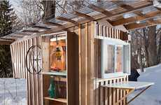 Upcycled Garbage Abodes
