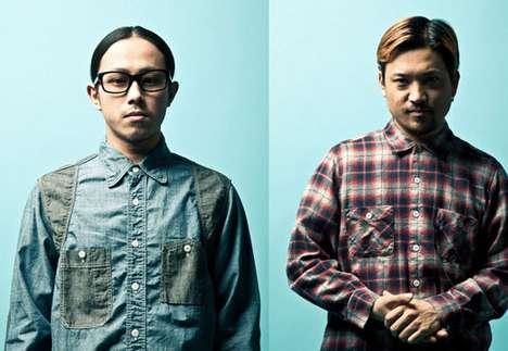 Hip Geek-Chic Menswear