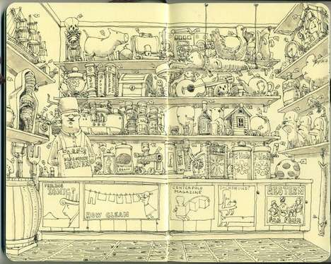 Quirky Cartoon Sketches