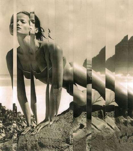 Tiled Vintage Photography