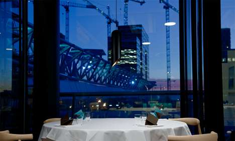 Simplistic Eco Eateries  - The Maaemo Restaurant Serves Up Gourmet Food and an Origami Menu