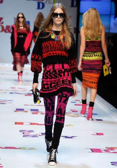 Tribal Typographical Fashion