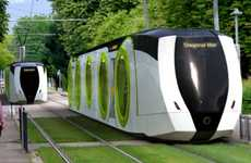 Larvae-Like Light Rails - The Alstom Loop Train-Tram is an Eco Urban Crawler