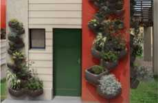 Climbing Potted Plants - The Wallflower Vertical Garden is Fit for Homes with Small Yards