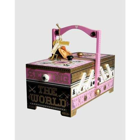 Chic Sewing Storage - Seletti Designs Stylish Sewing Boxes & Toolboxes
