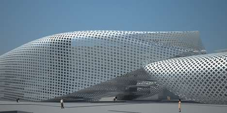 Sky-Inspired Architecture - The Crowd in the Cloud by Design Initiative is Impressive