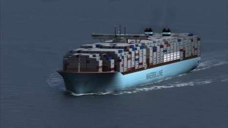 Carbon-Cutting Cargo Ships