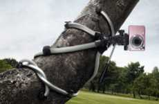 Clinging Tripod Campaigns - The Joby Gorillapod Ads Promote Adaptable Camera Stands