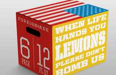 Political Punch Packaging - Foreign-Ade by Taylor Goad Offers Citrus Appeasement