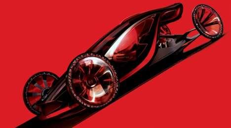 Fiery Eco-Sedan Concepts