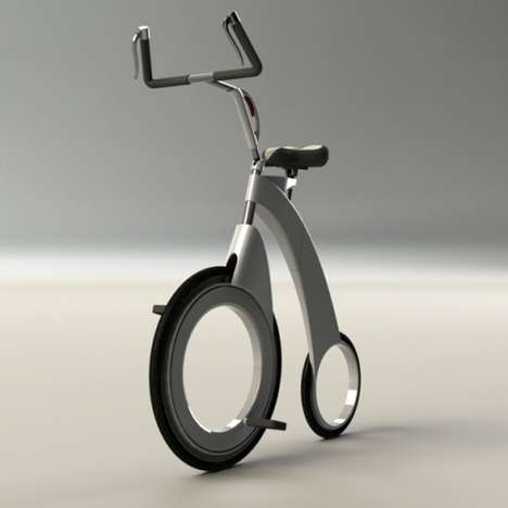 Front-Wheel Drive Folding Bikes
