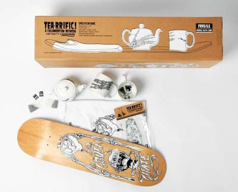 Skateboard Tea Sets