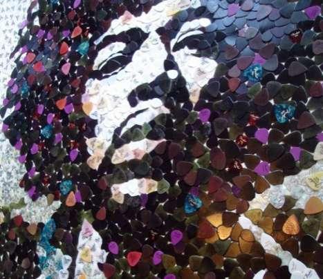 Mosaic Plectrum Portraits