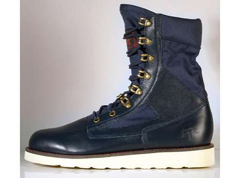 Classy Construction Boots - Amongst Friends Field Boots Combine Fashion and Function