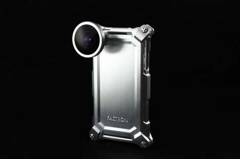 Heavy Metal iPhone Cases - Factron Metal Gear Cases for iPhone and iPad are Badass
