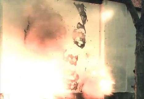 Explosive Art Installations