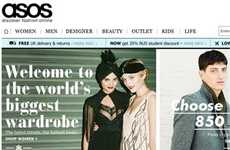 Selling Competitors' Clothing - The Asos Fashion Finder Opens its Customer Base to Competing Brands