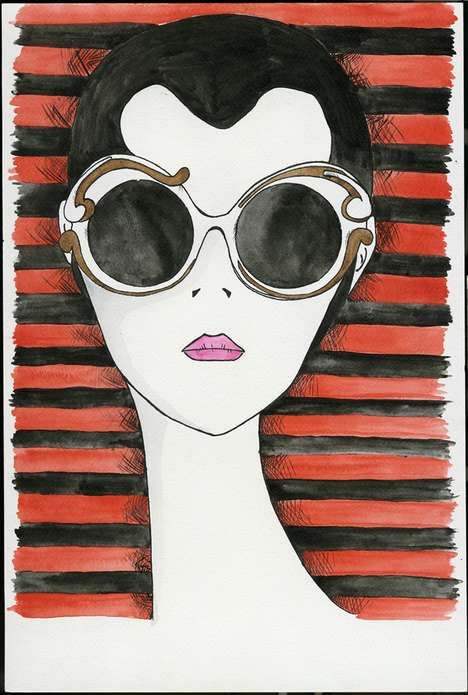 Sultry Sunnies Illustrations