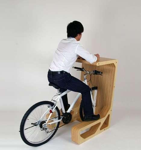 Compact Bike Desks