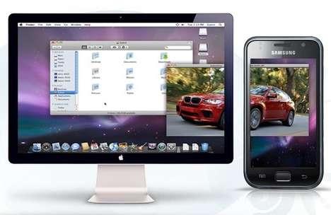 Smartphone Second Monitors