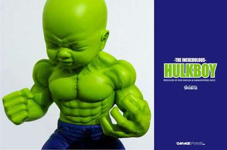 Beefed-Up Green Babies