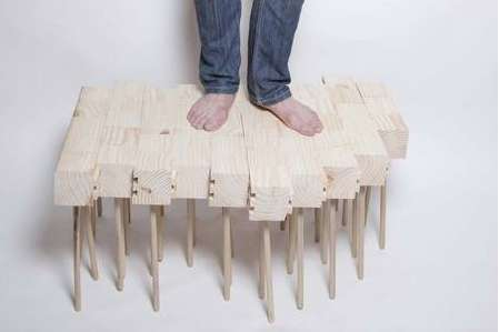 Limitless Legged Tables