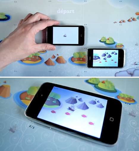 Smartphone Game Pieces - The iPirate Board Game Uses the iPhone for an Enhanced Experience