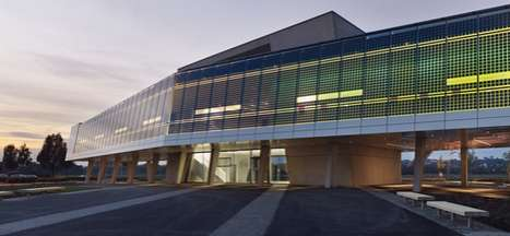 Amazing Photovoltaic Academies - The Solar Training Center by HHS Architekten is Carbon-Neutral