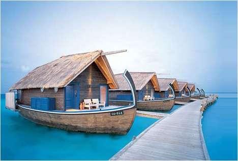 Vacationing Boat Homes