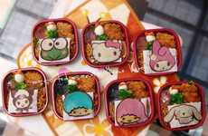 Cutesy Cartoon Lunch Boxes - These Charming Sanrio Bento Boxes Feature Iconic Japanese Characters