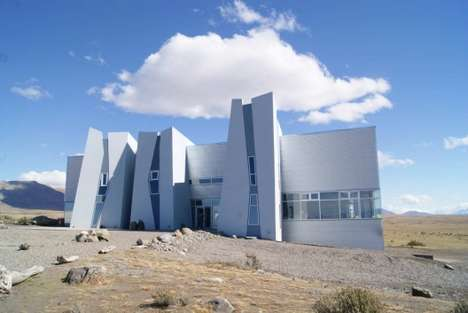 Monolithic Glacier Museums