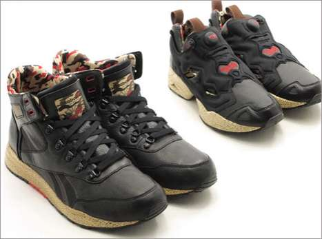 The Reebok Black Camo Pack for Spring 2011 is for the Average G.I. Joe