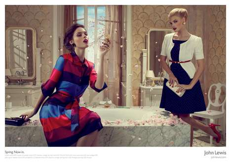 Refreshing Spring Editorials - John Lewis' Spring Campaign by Adam & Eve is Full of Character