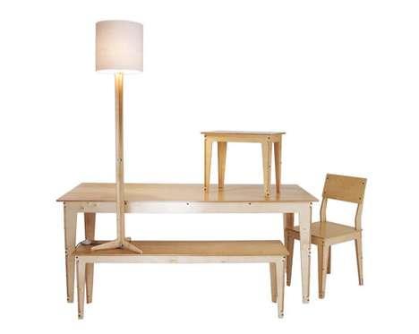 Flat-Pack Wooden Furniture