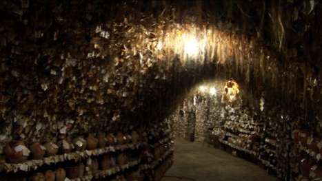 Creepy Hair Caves - The Hair Museum of Avanos Features Samples from Over 16,000 Women
