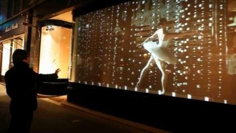 Interactive Ballet Storefronts