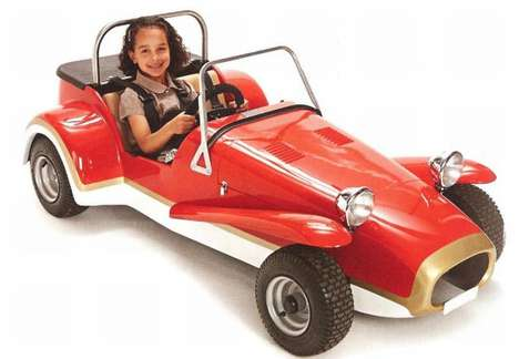 Luxurious Children's Cars