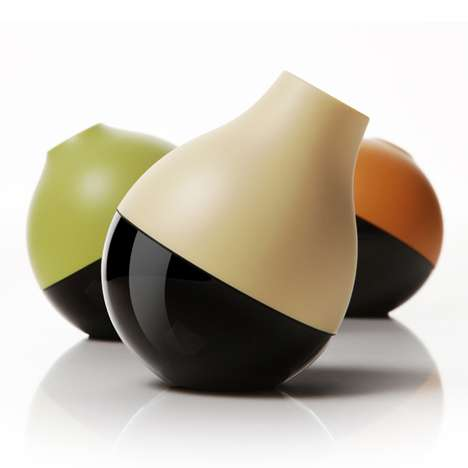 Fruity TV Remotes - Peel Fruit by Yves Behar Makes Channel Surfing Sweeter