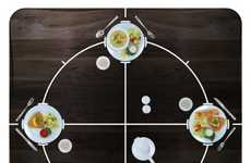 Tactile Dinner Tables - The Moon Table Makes Dinner Time Easier on the Blind