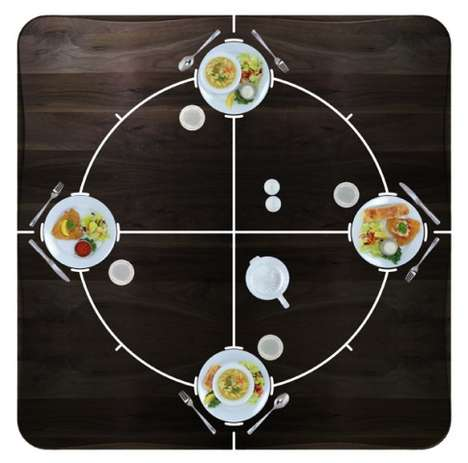 Tactile Dinner Tables