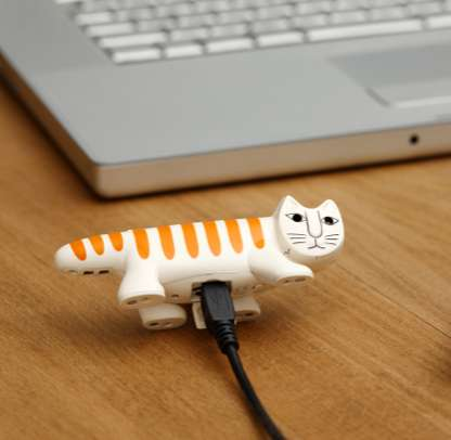 Cat-Shaped Cameras