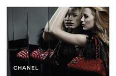 Haute Couture Starlet Ads - Blake Lively Chanel Campaign Spearheads the Mademoiselle Handbags