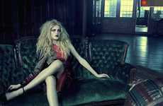Gritty Glamorous Photography - Jacques Olivar Takes Elegant Images With an Edge