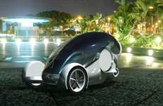 Computer Company Concept Cars - The Apple iSync Automobile is Perfect for Macheads